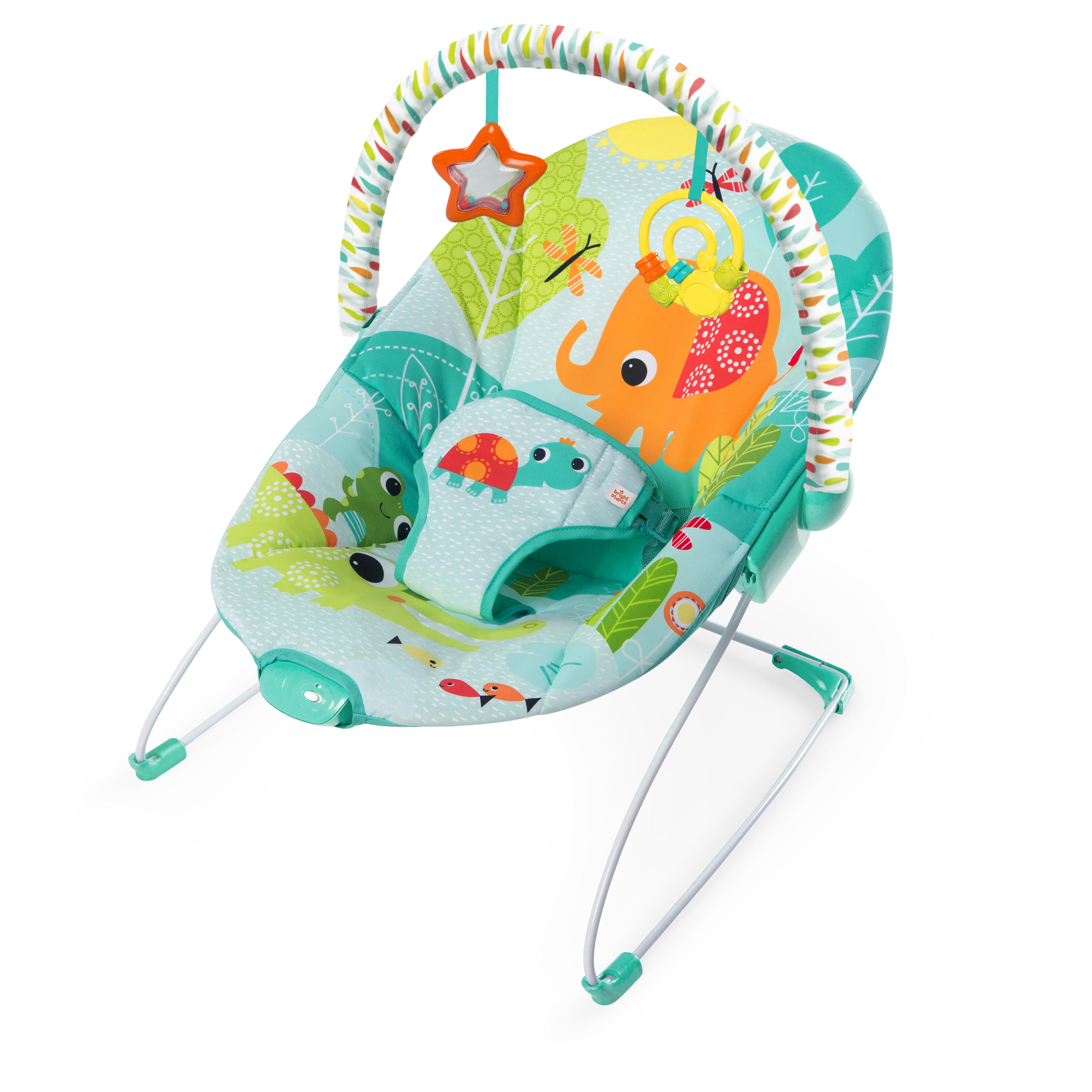 BRIGHT STARTS Bouncer Raindrop Rainforest