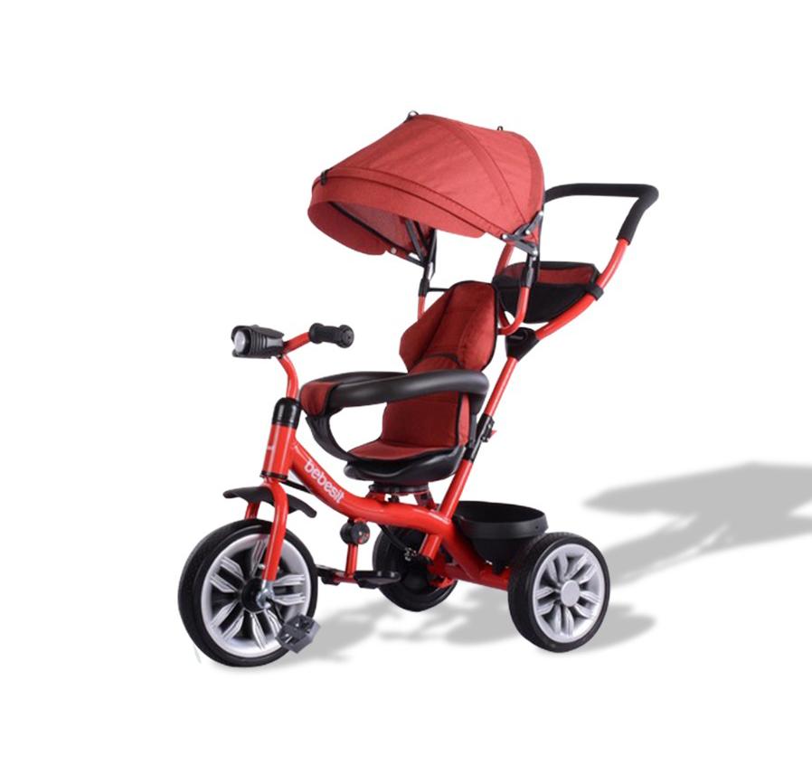 BEBESIT Triciclo 360 Rojo