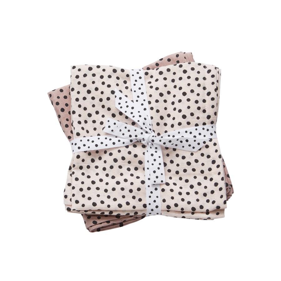 DONE BY DEER Babitas x2 Happy Dots Pink