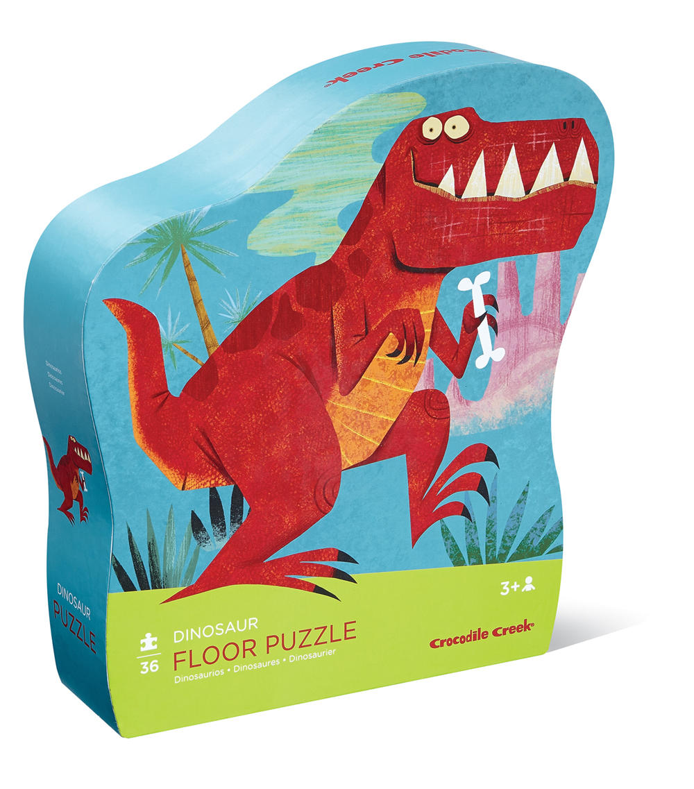 Crocodile Creek Puzzle Dinosaurios