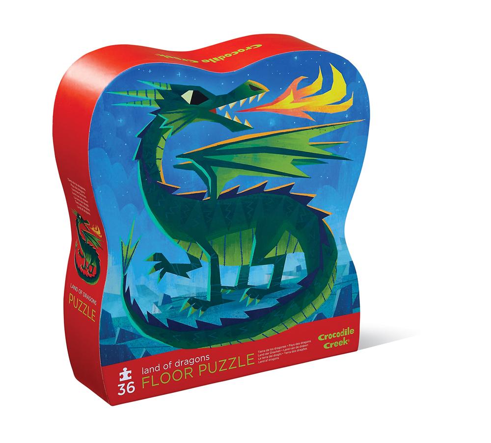 Crocodile Creek Puzzle Dragones