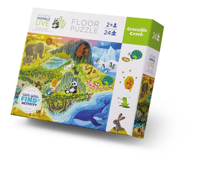 Crocodile Creek Puzzle Animales