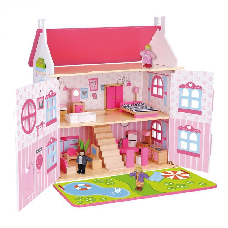 TOOKY TOY Doll House