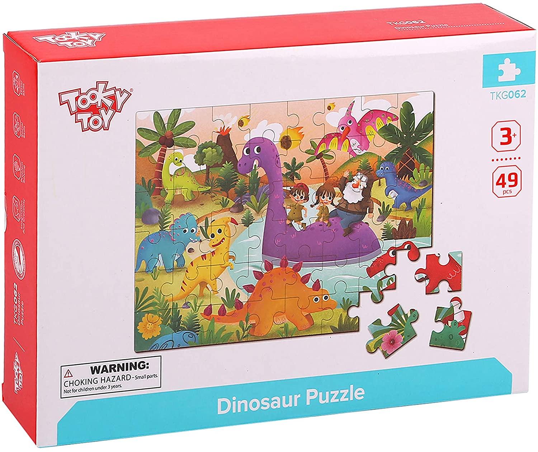 Tooky Toy Puzzle Dinosaurios
