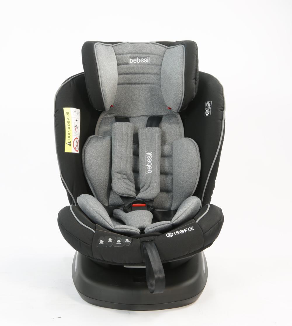 Bebesit Supra 360 Isofix Gris