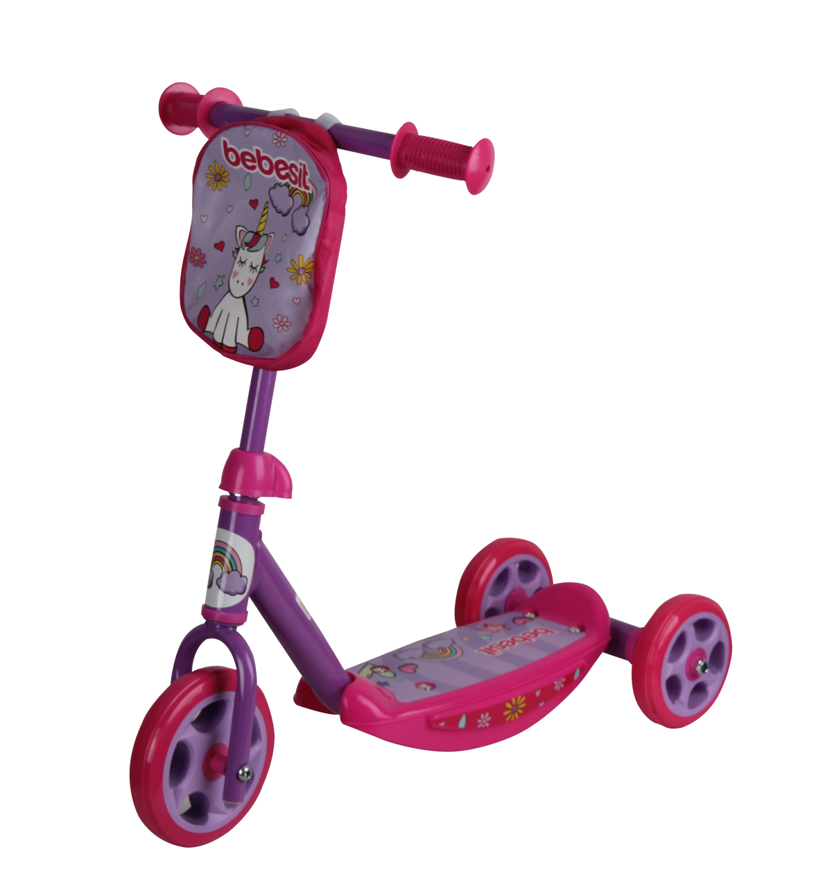 BEBESIT Mi Primer Scooter Unicornio