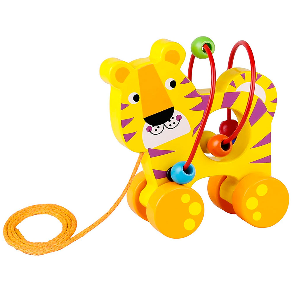 Tooky Toy TIGRE DE ARRASTRE