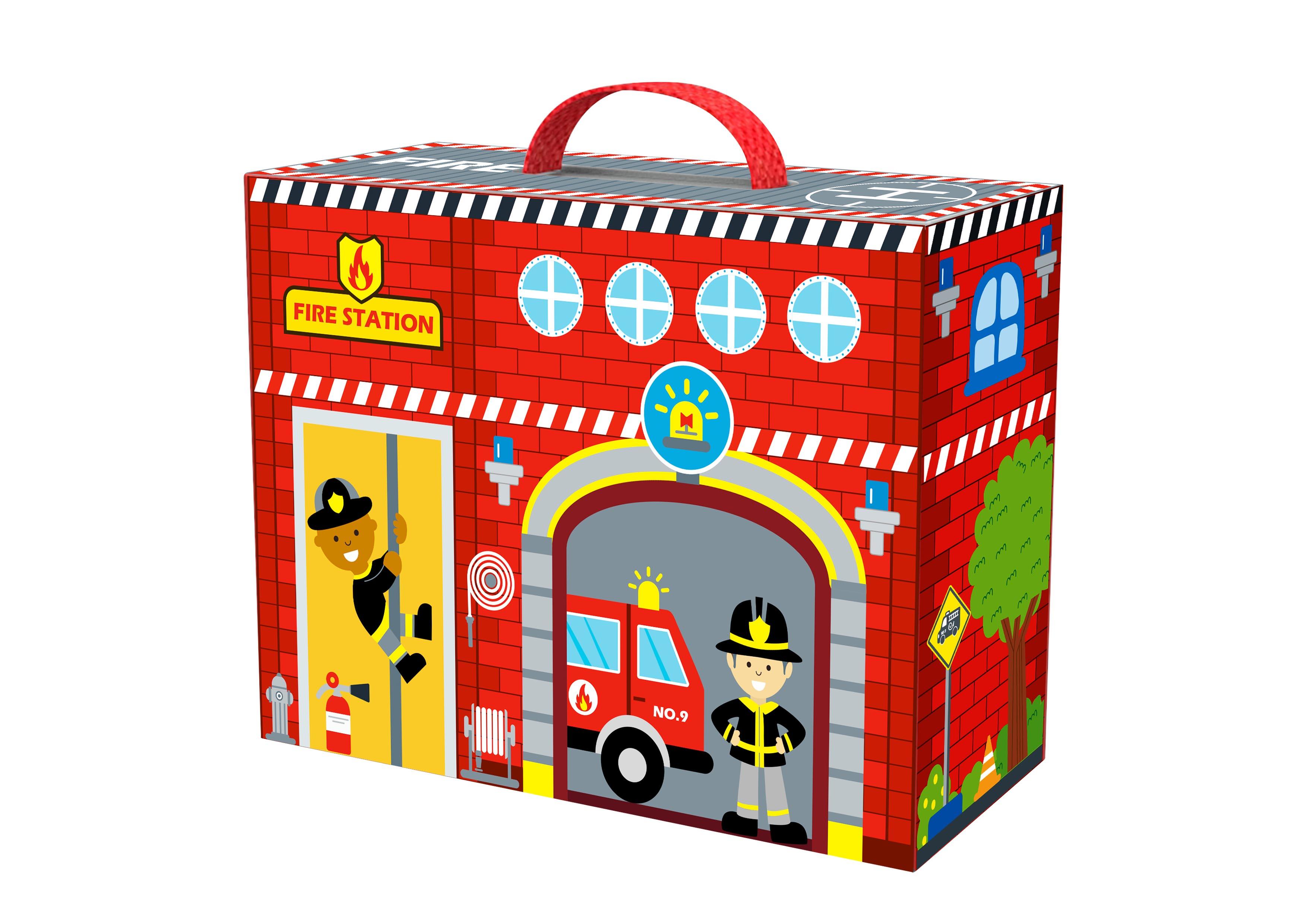 Tooky Toy Caja de Bomberos