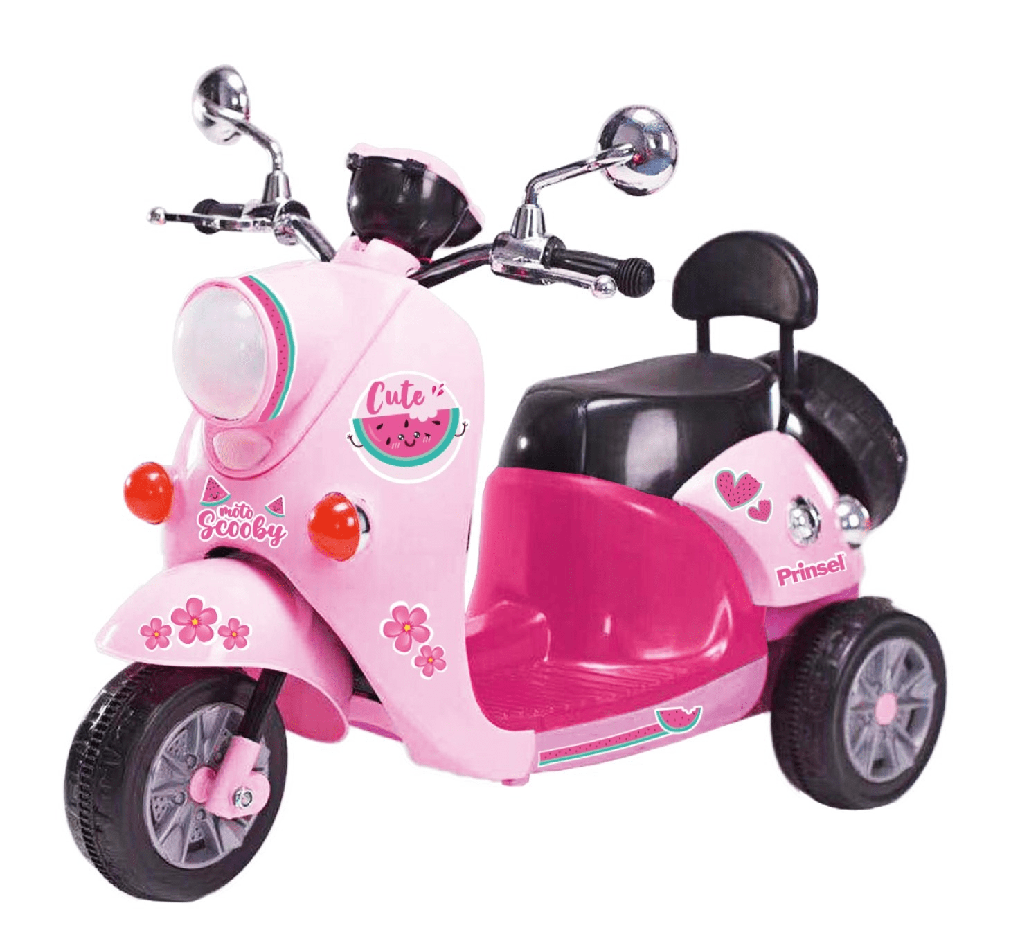 Bebesit Scooter Rosa