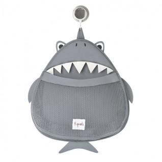 3 SPROUTS Organizador Baño Tiburón