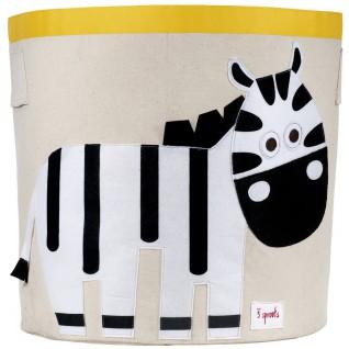 3 SPROUTS Baúl Circular Zebra