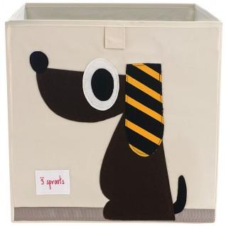 3 SPROUTS Caja Organizadora Perro