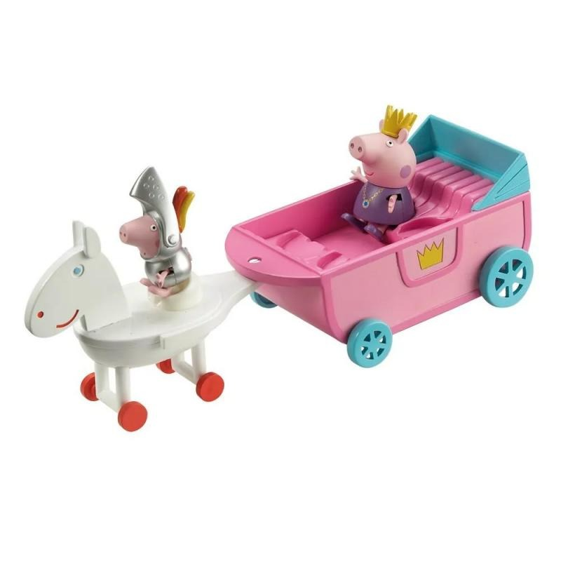 FISHER PRICE Peppa Pig y su Carruaje de Princesa