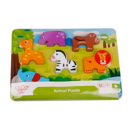 Tooky Toy PUZZLE ANIMALES