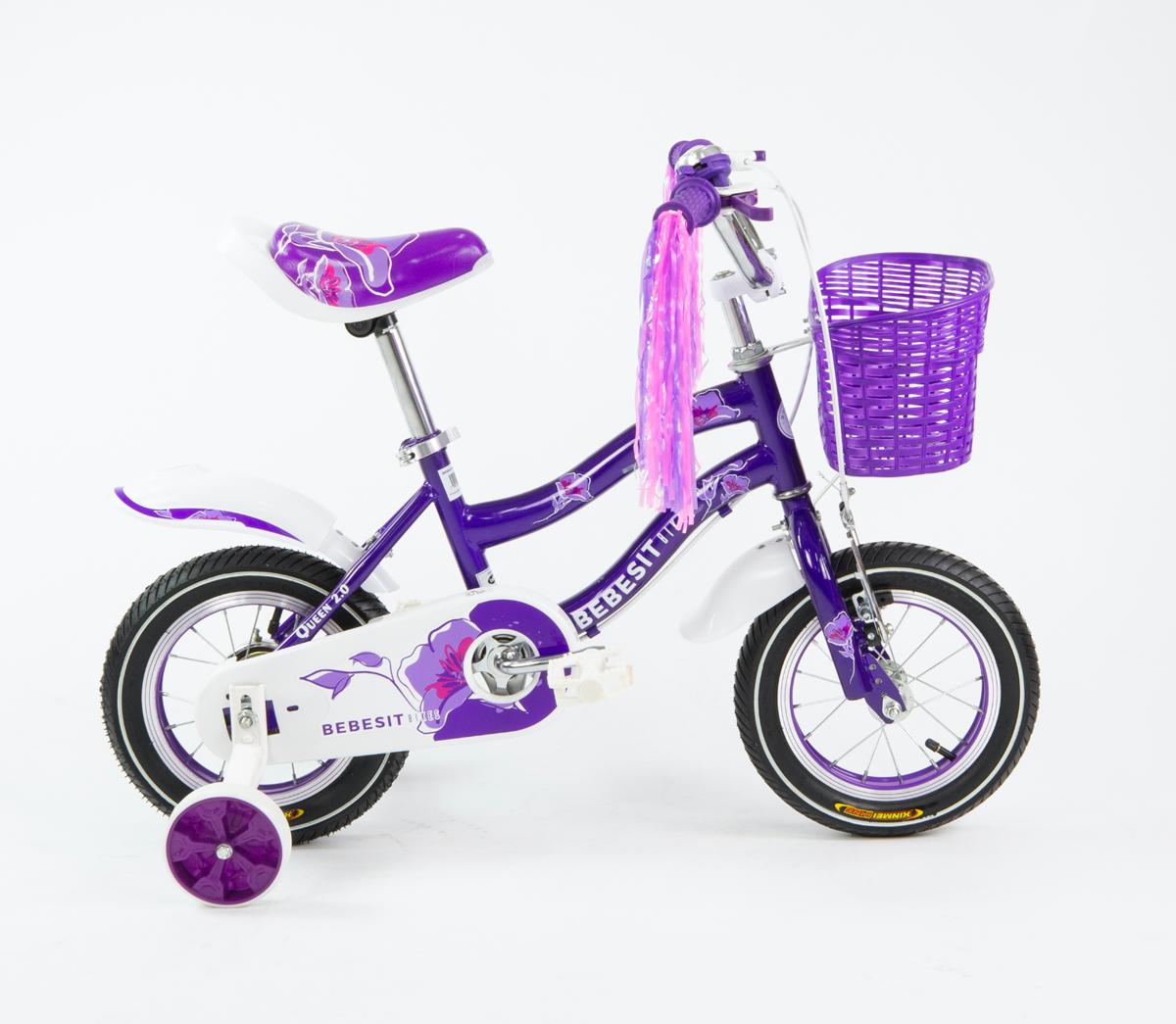 BEBESIT Bicicleta Queen rd 12 Violeta
