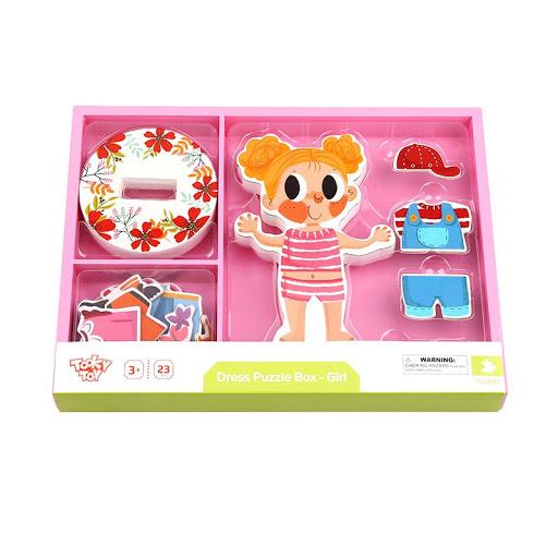 Tooky Toy VESTIDO PUZZLE BOX NENA